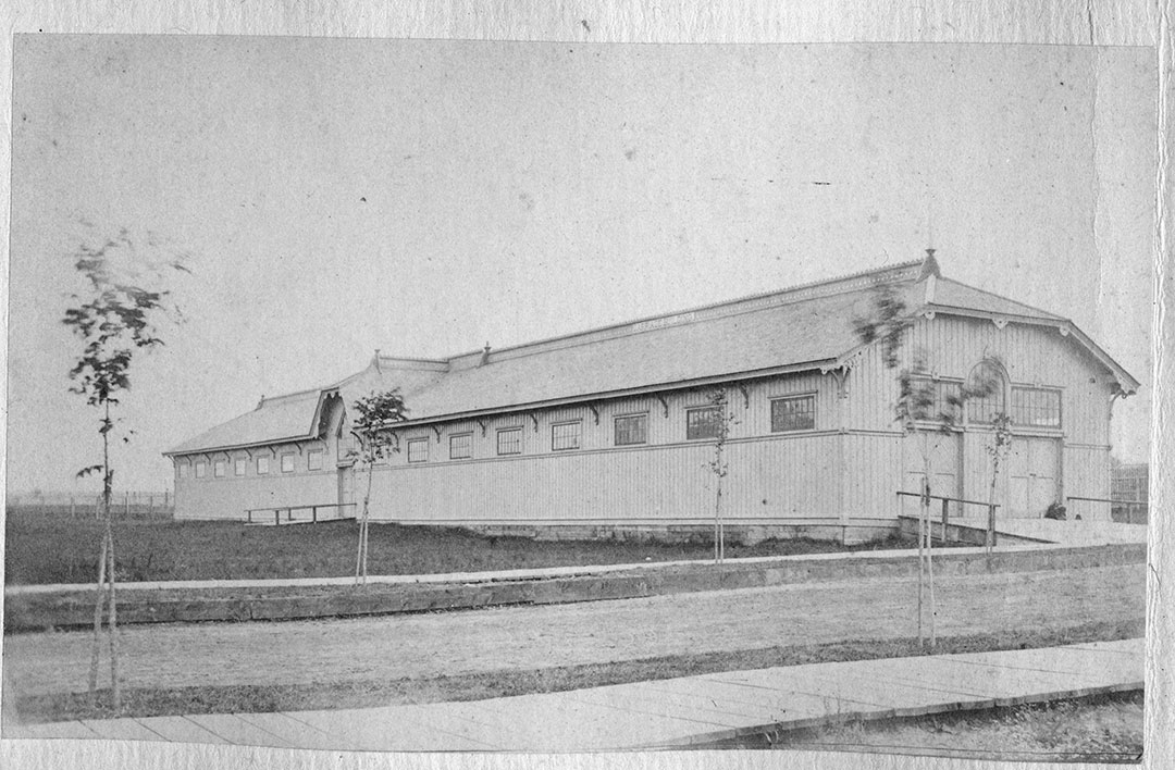 Carriage Building, ca. 1879