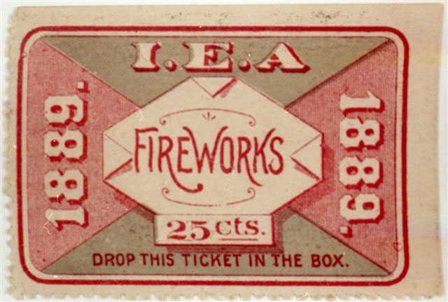 Fireworks Ticket