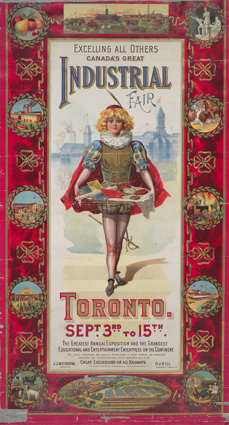 1894 Toronto Industrial Exhibition Poster