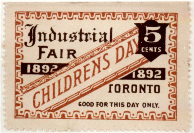 1892 Ticket To Children's Day