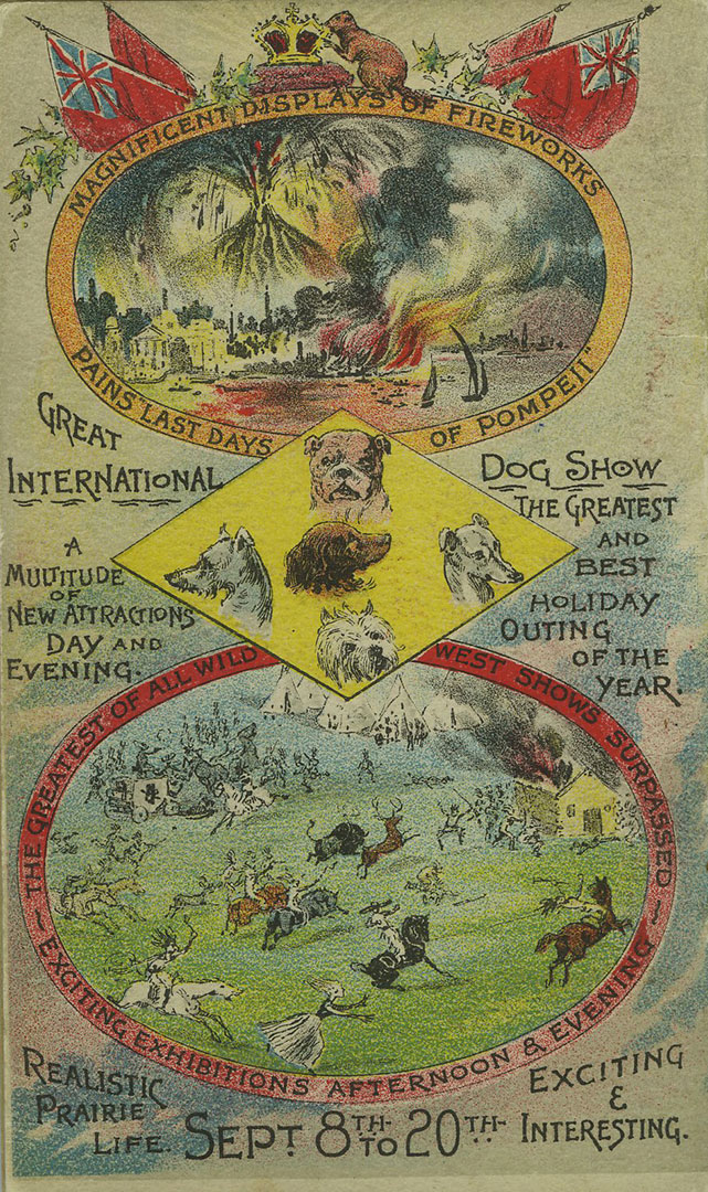 1890 Programme Cover