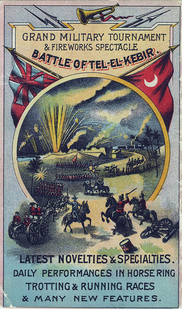 1893 Programme Back Cover