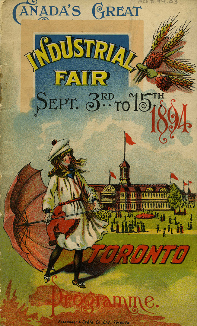 1894 Programme Cover