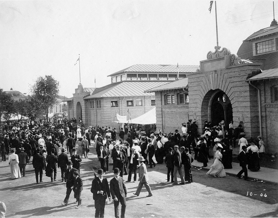 Exhibit Buildings, 1906