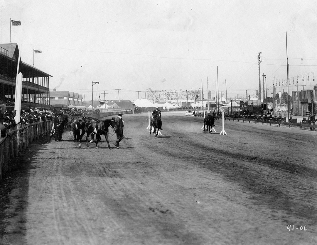 Horse Show Grandstand 1906