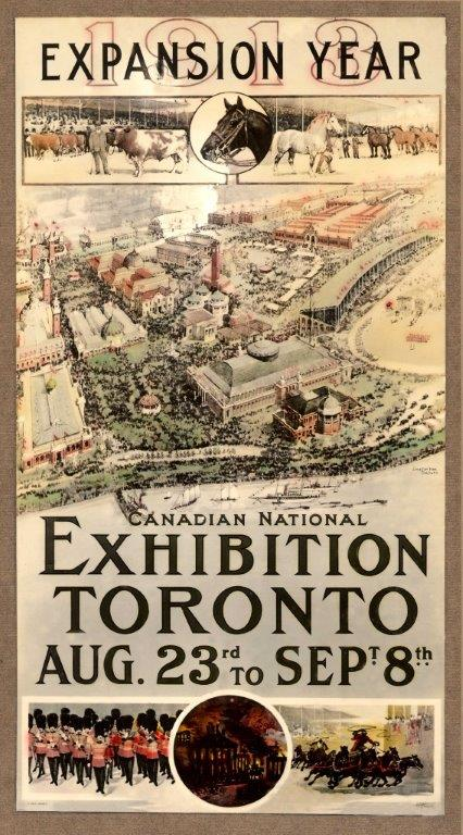 1913 CNE Poster