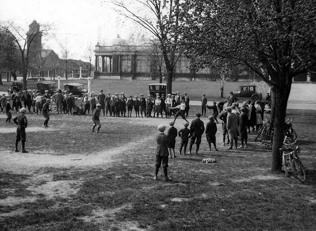 Baseball At The CNE, 1912