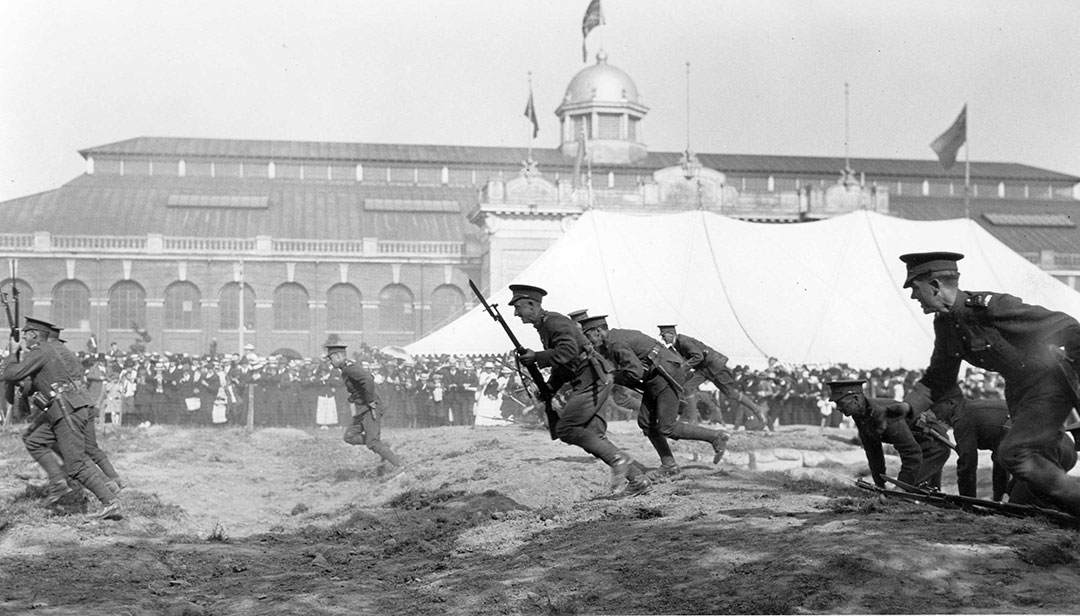 Charging Demonstration At The CNE During WWI