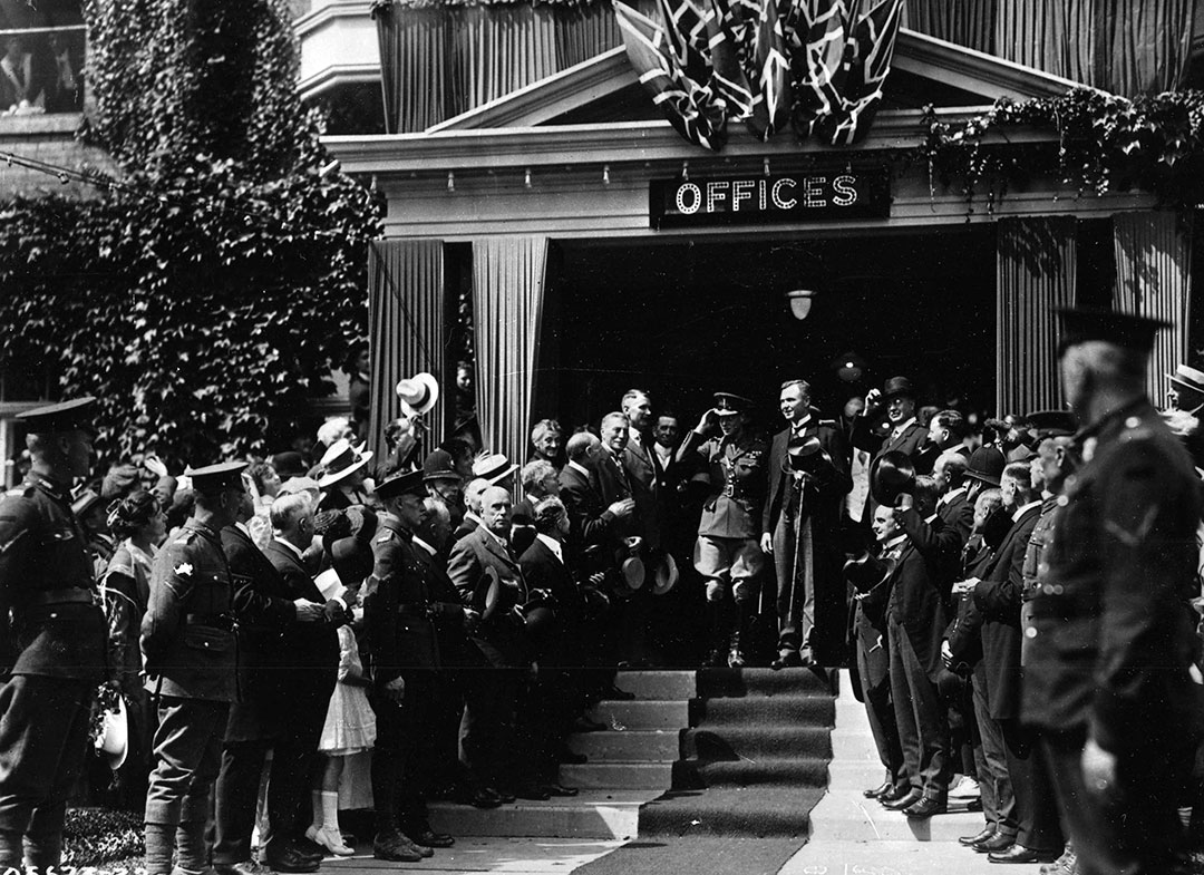 Prince Edward At The Press Building, 1919