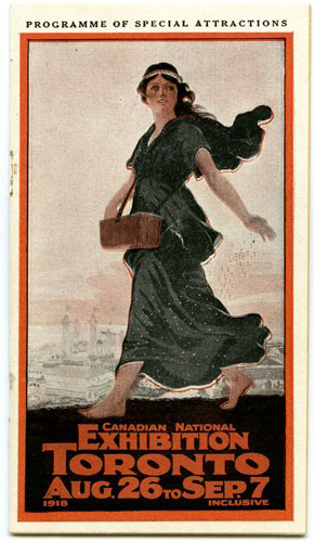 1918 CNE Programme Cover