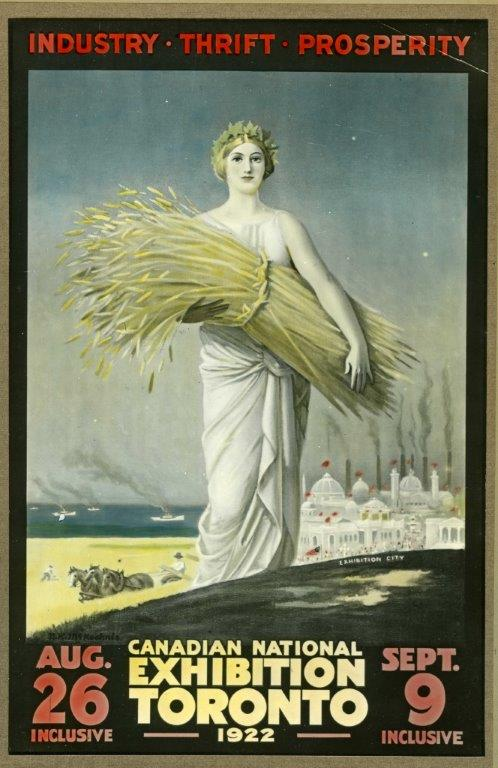 1922 CNE Poster