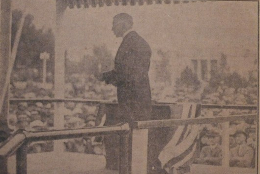 Sir Frederick Banting Opening The 1923 CNE