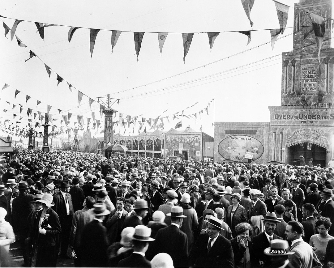 CNE Midway, 1925