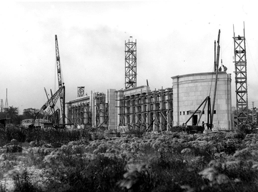 Construction Of The Princes' Gates, Spring 1927