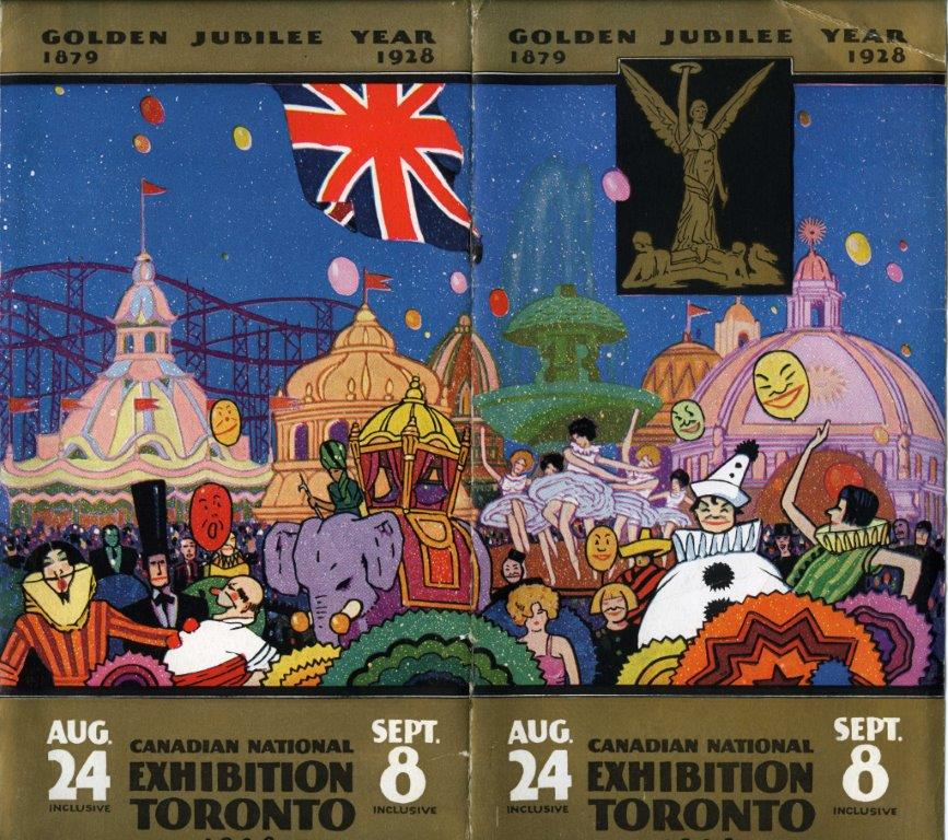 1928 Golden Jubilee Programme Cover