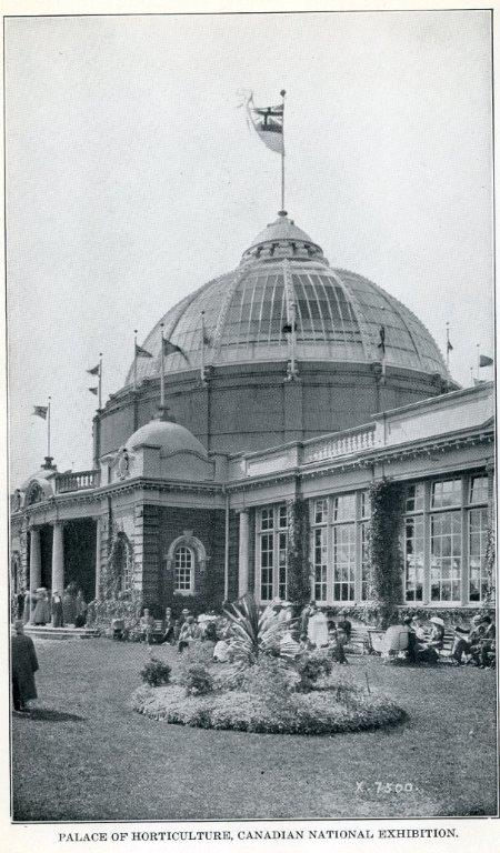 Horticulture Building Pictured In 1929 CNE Programme