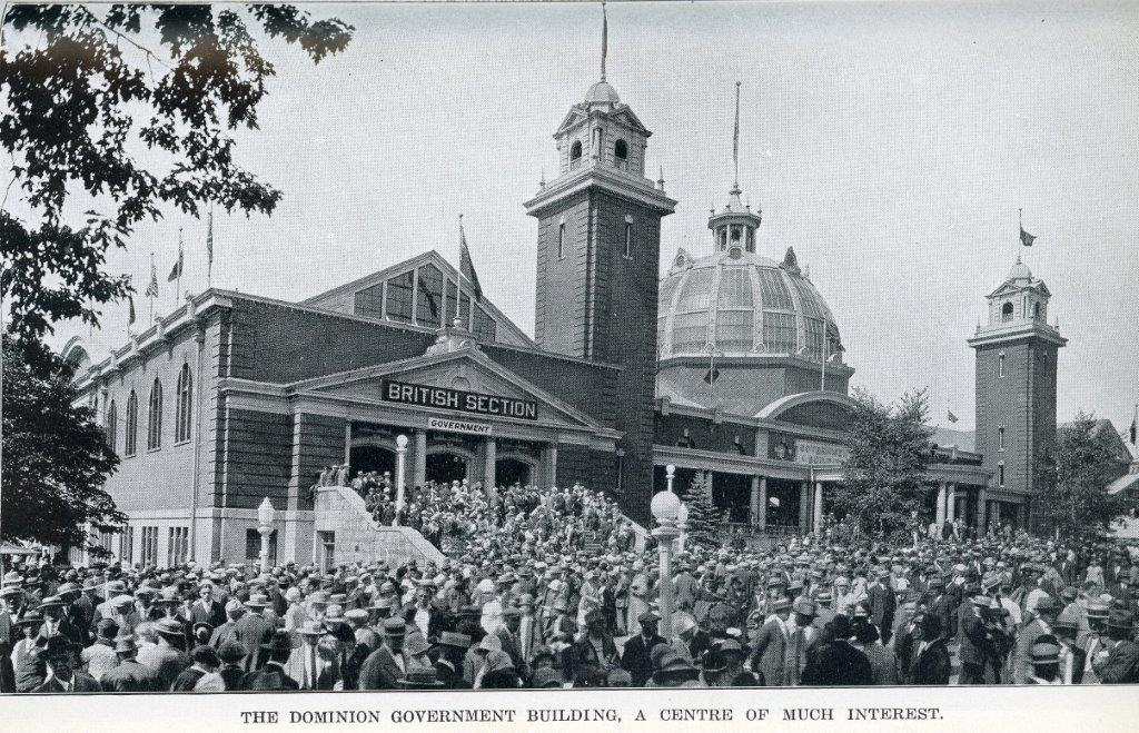 The Government Building In 1929 CNE Programme