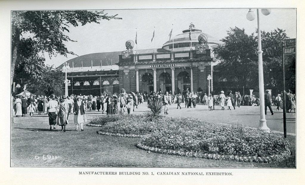 Photo Of Manufacturers Building In 1929 Programme