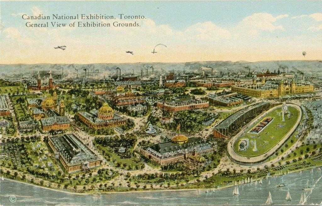 Aerial View Of The CNE Grounds, ca. 1922-1925