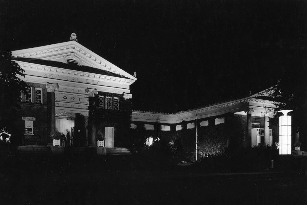 Art Gallery At Night, ca. 1927