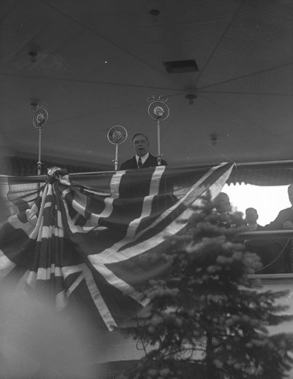 Prime Minister Mackenzie King Opening The 1927 CNE