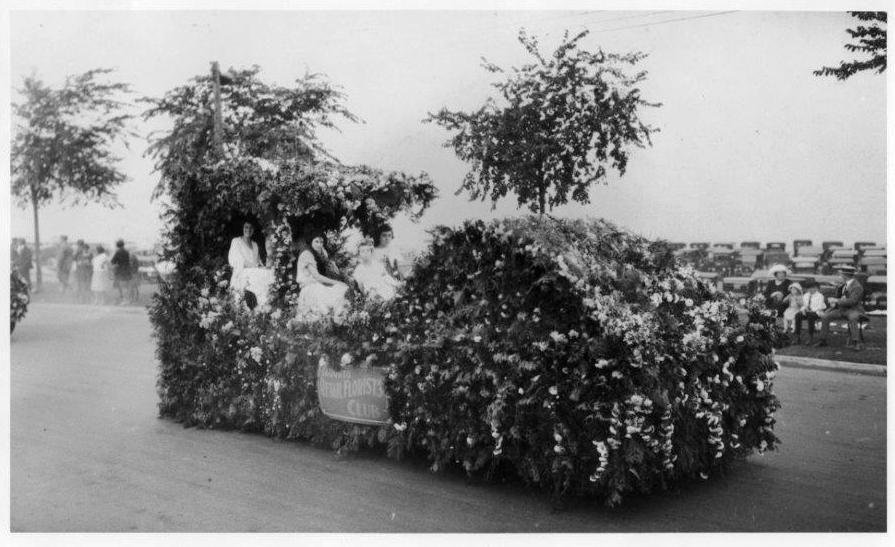 Horticulture Float, 1923
