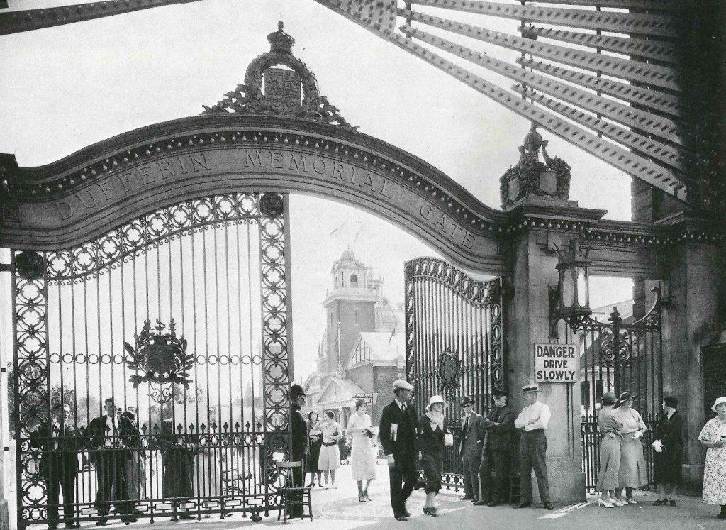 The Dufferin Gates, 1920s