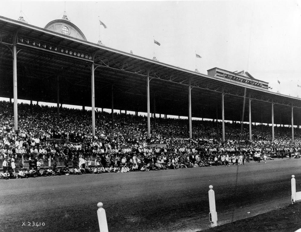 The New Grand Stand, ca. 1907