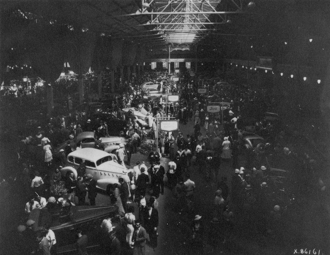 Automotive Show In Automotive Building, 1929