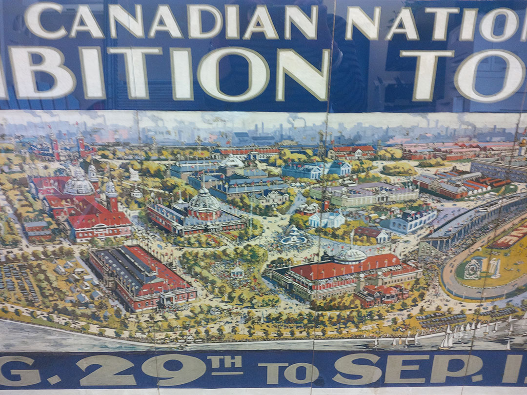 Detail From CNE Poster, 1925