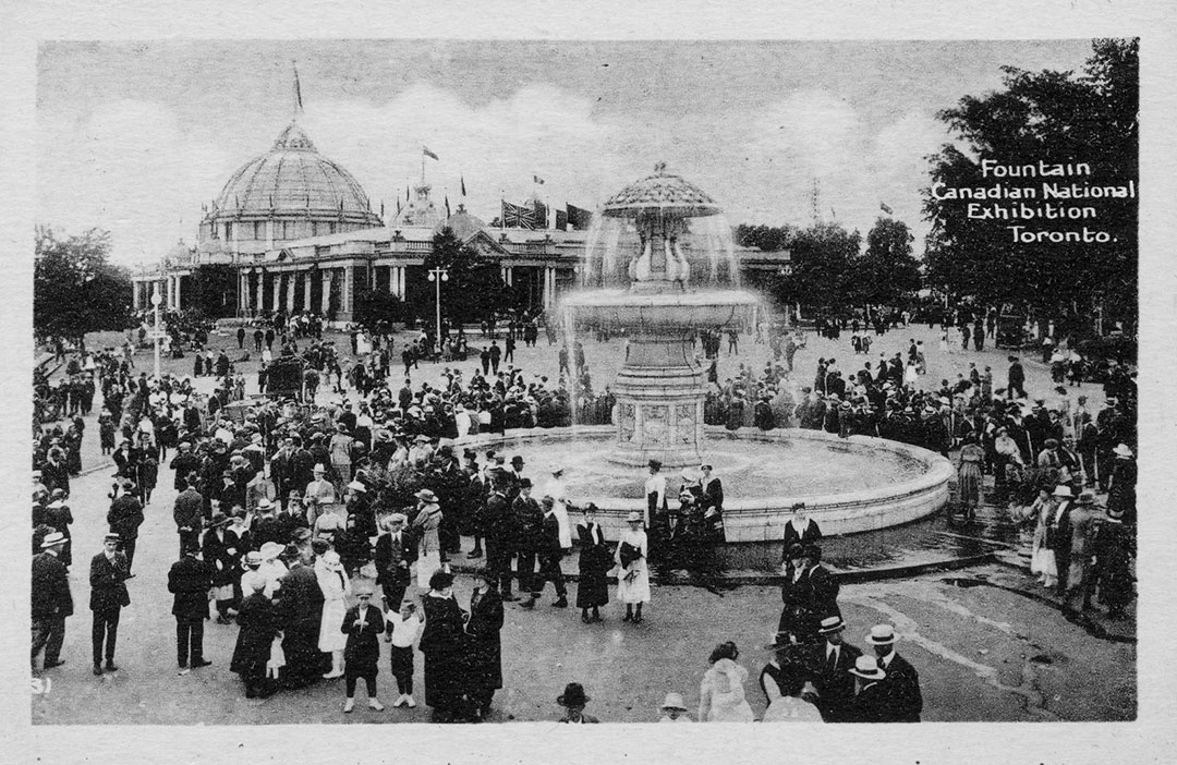 Gooderham Fountain, 1920