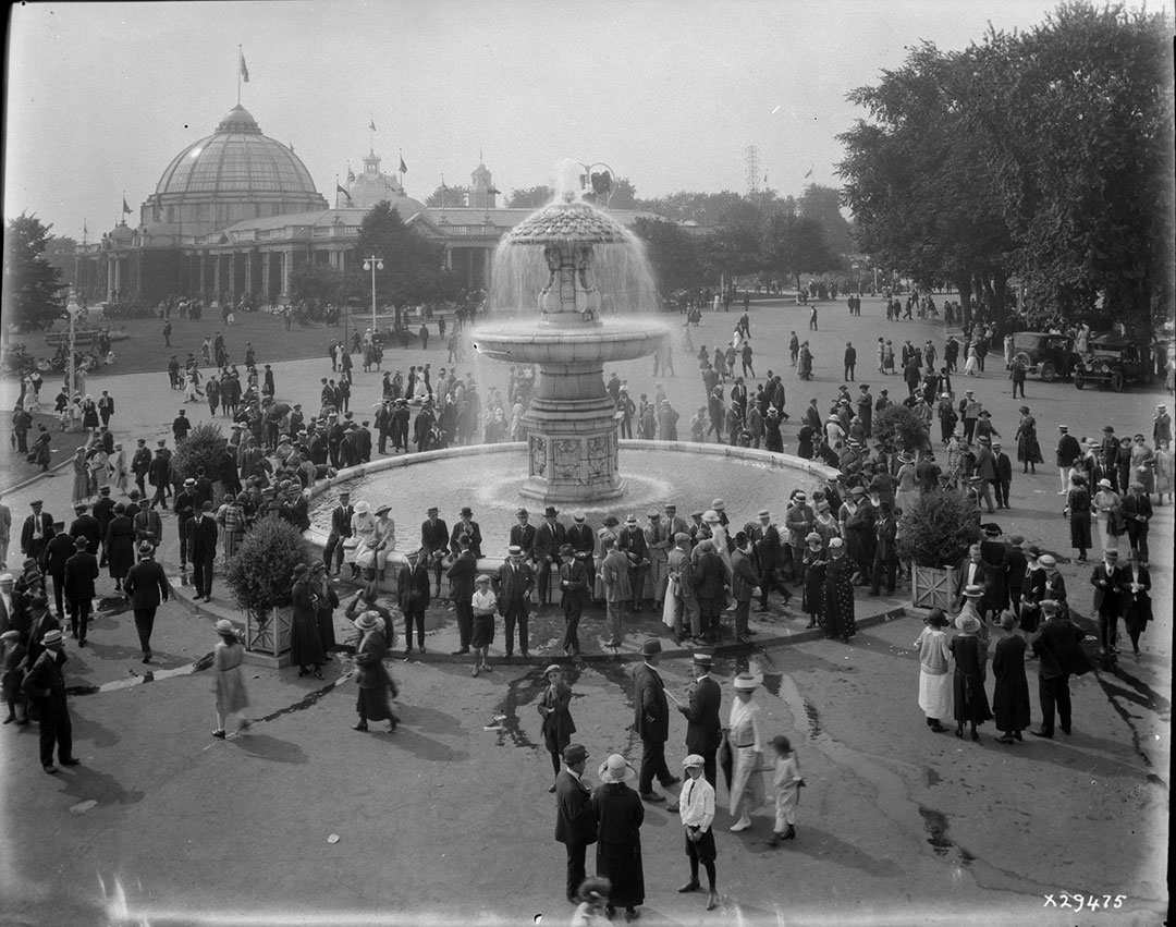 Gooderham Fountain, ca. 1920's