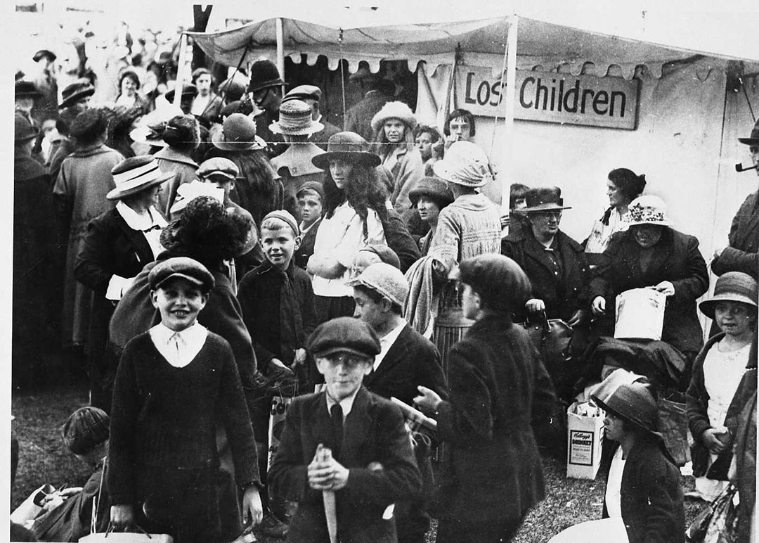 Lost Children Tent, 1920