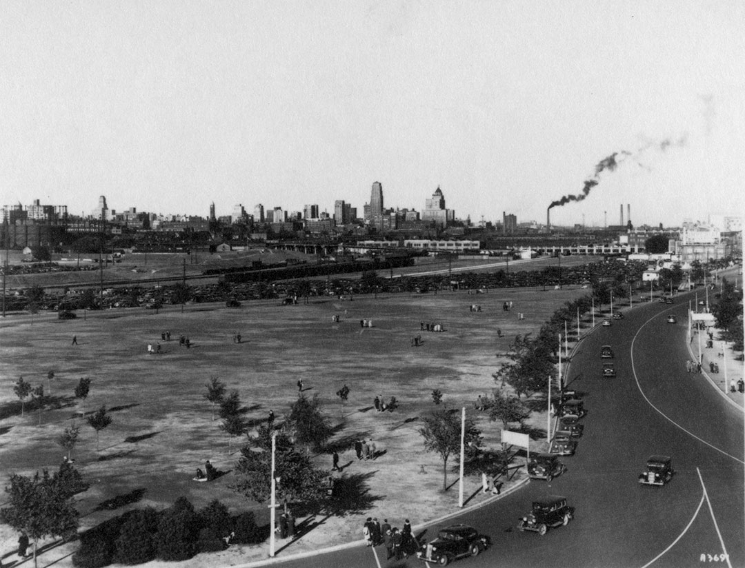 Toronto Skyline View From The Princes' Gates, ca. 1930s