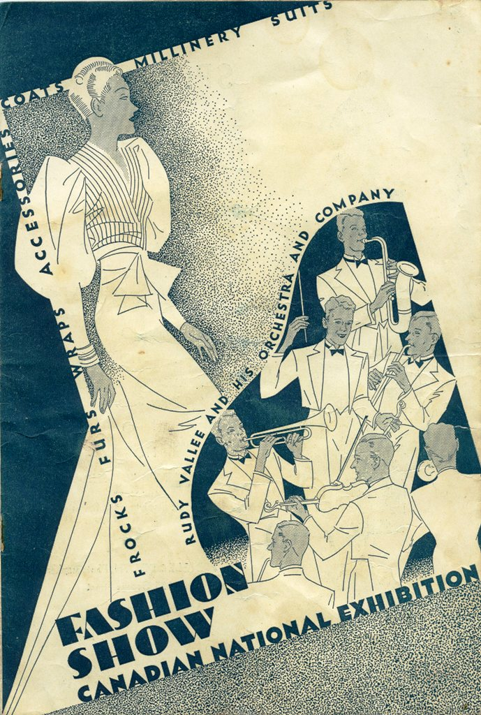 1935 Fashion Show Programme, Front Cover