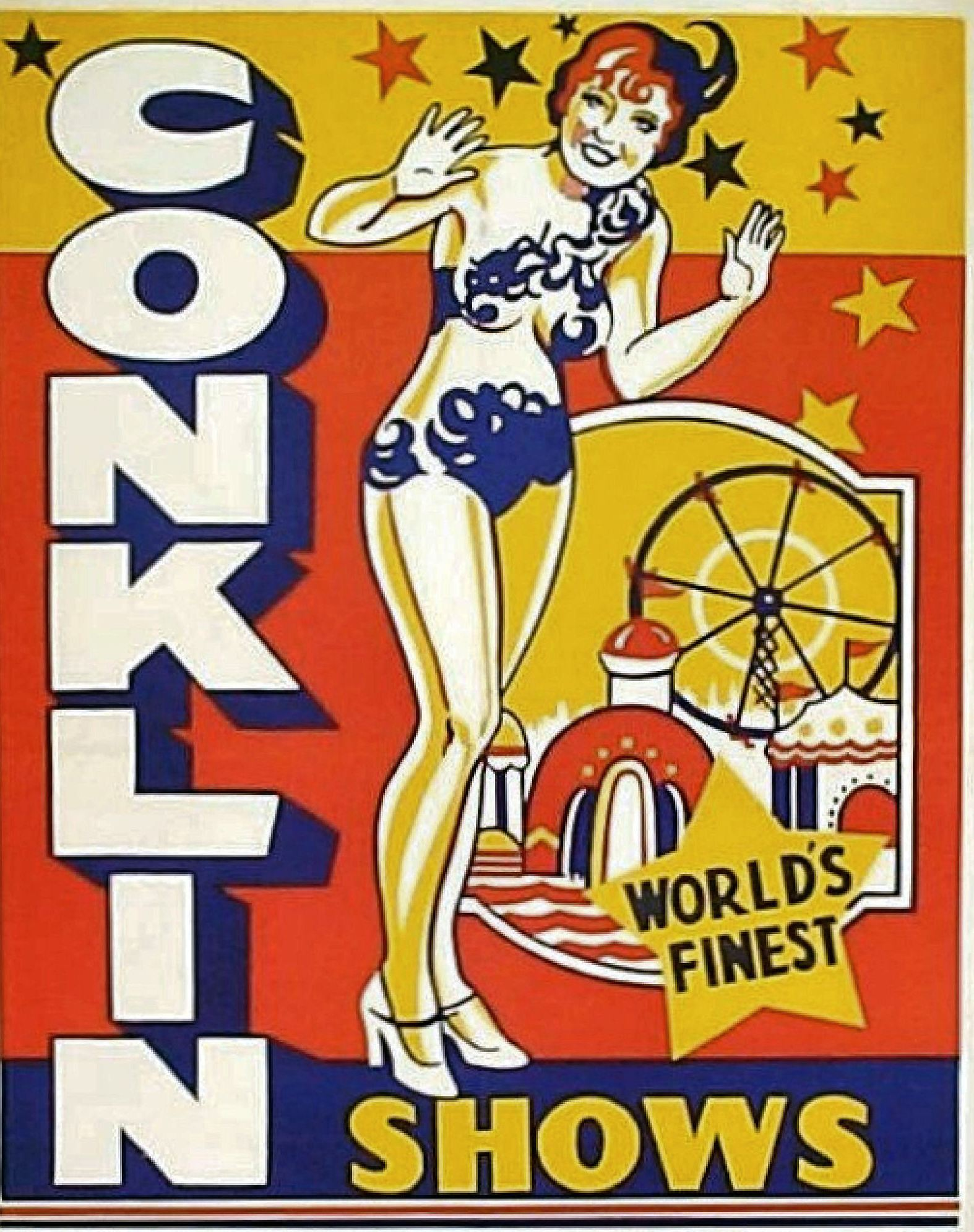 Conklin Shows Poster, circa 1939