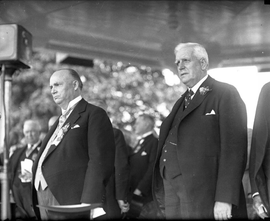 Prime Minister R.B. Bennett @ The Opening Of The 1932 CNE