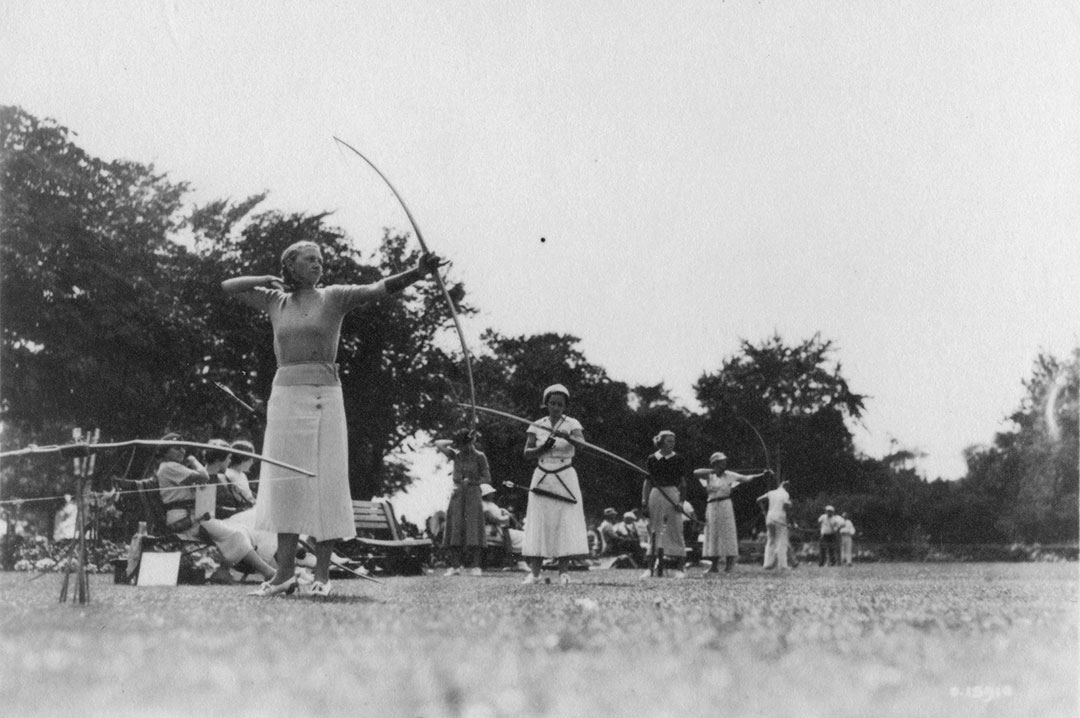 CNE Archery Competition, 1935