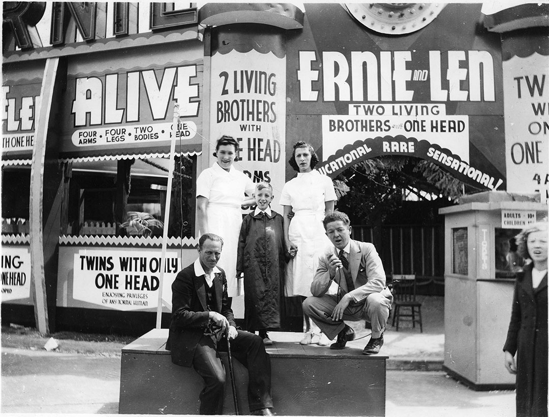 cne heritage the ernie and len show 1930