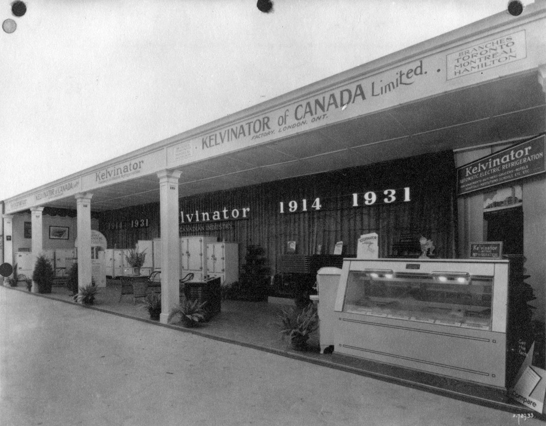 Kelvinator Display, 1931