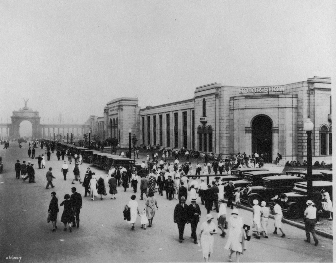 Looking Toward The Princes' Gates, 1930