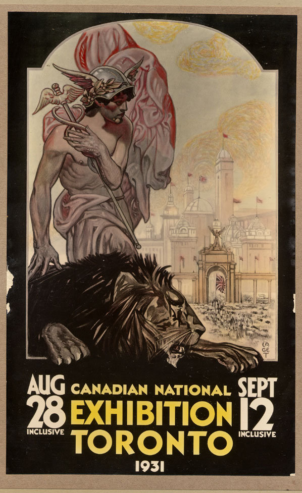 CNE Poster, 1931