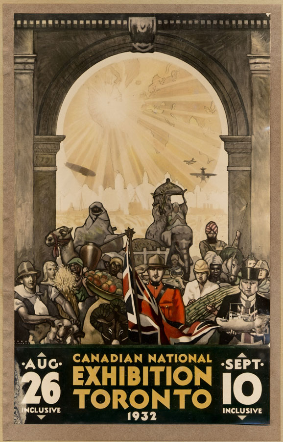 CNE Poster, 1932