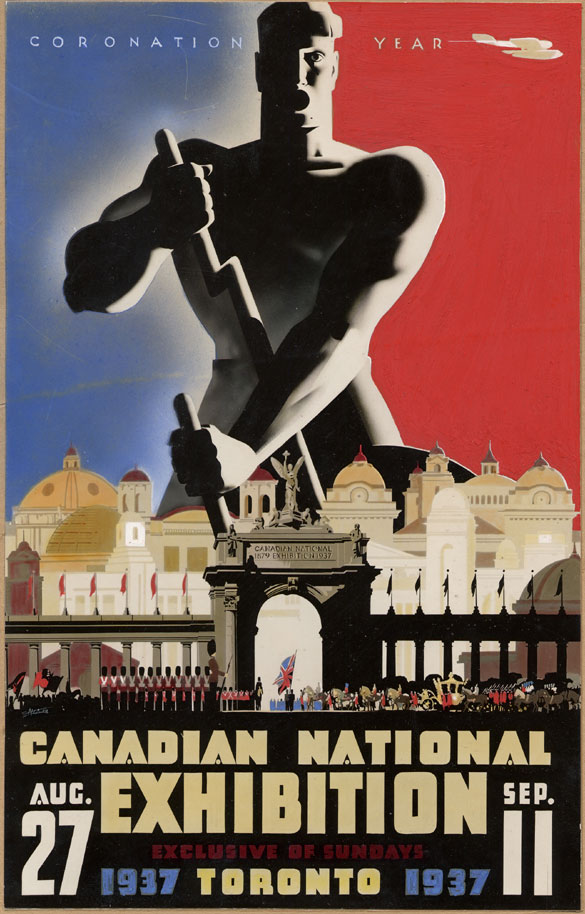 CNE Poster, 1937