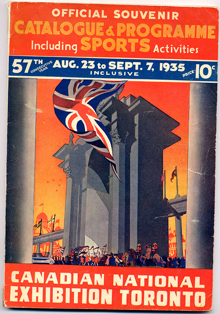 CNE Programme Cover, 1935