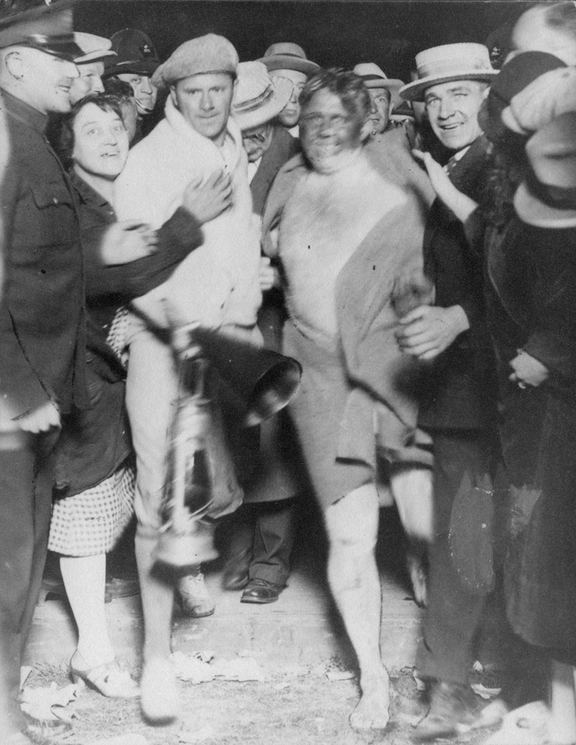 Swimmers After The Marathon Swim, 1930