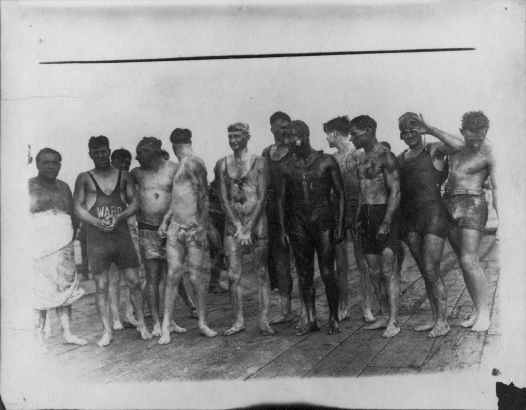 Swimmers Prepared For CNE Marathon, 1930