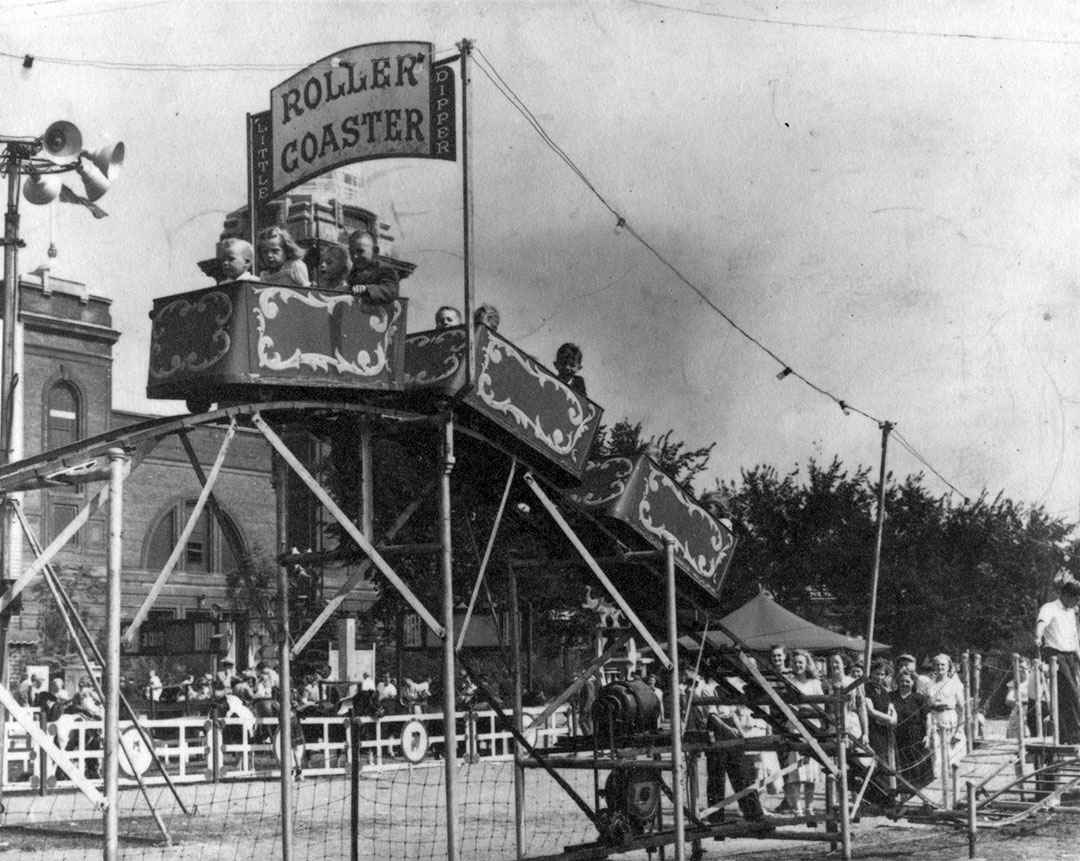 Childrens Roller Coaster, 1947