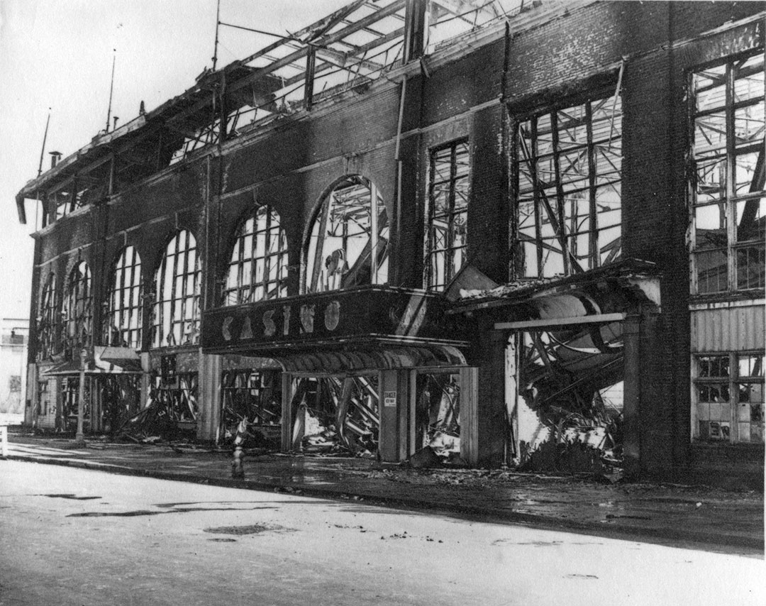 Grand Stand Fire, 1946