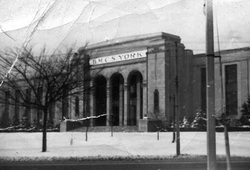 HMCS York At The Automotive Building, 1942